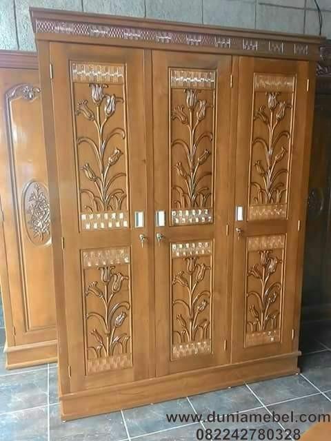 lemari pakaian 3 pintu sleding