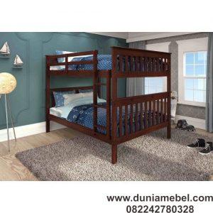 tempat tidur anak gaya misi