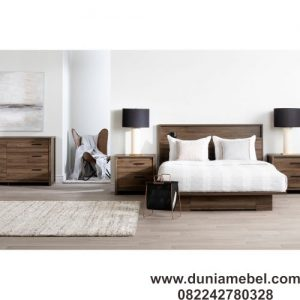 tempat tidur lantai modern