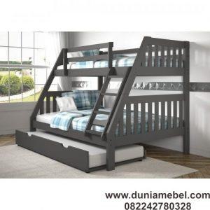 tempat tidur susun anak unik