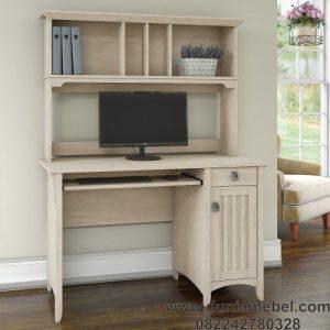 meja kerja minimalis fungsional