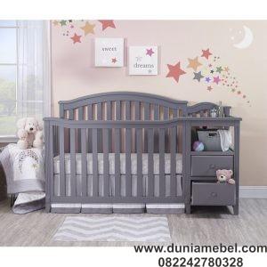 Ranjang Bayi Jati Modern
