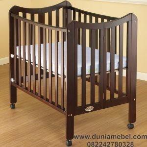 Tempat Tidur Bayi Lipat Folding
