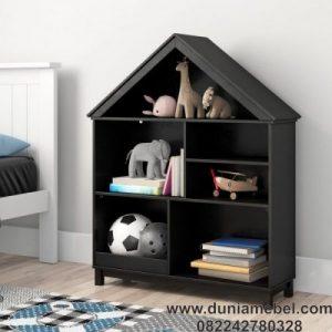 Rak Buku Minimalis Model Rumah