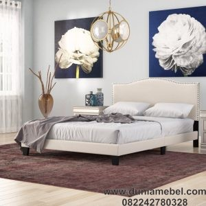 Tempat Tidur Minimalis Upholstered