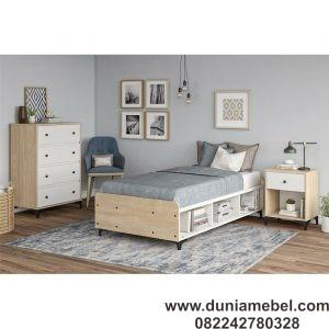 Tempat Tidur Minimalis Modern Karan