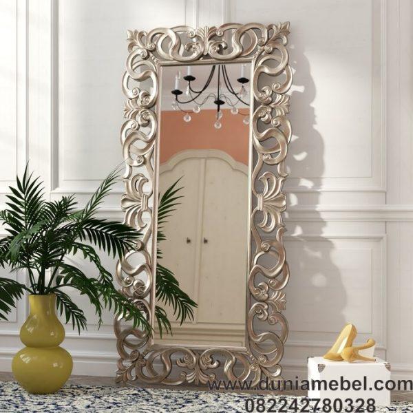 Cermin Dinding Ukiran Mewah