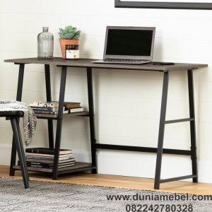 Meja Kantor Minimalis A-Frame Logam