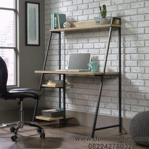 Meja Kantor Kaki A Logam