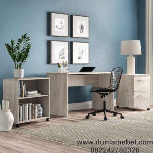 Meja kantor Minimalis Simpel set
