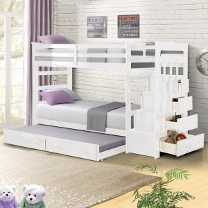 Tempat Tidur Tingkat Minimalis 3 Bed