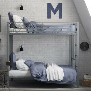 Tempat Tidur Susun Minimalis Tangga Bawah