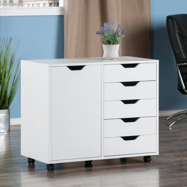 Lemari Arsip Crandon 5 Drawer Vertical Filing