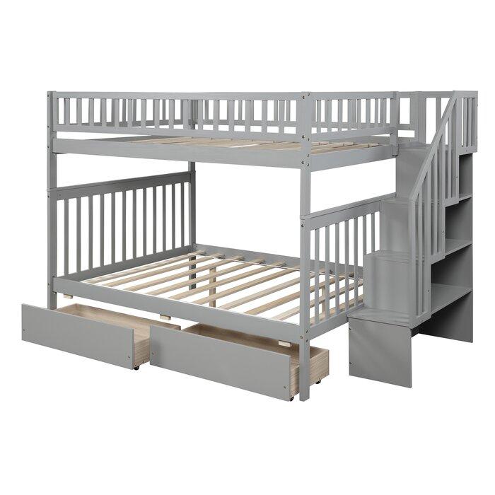 Tempat Tidur Tingkat Brigg dengan 2 Laci