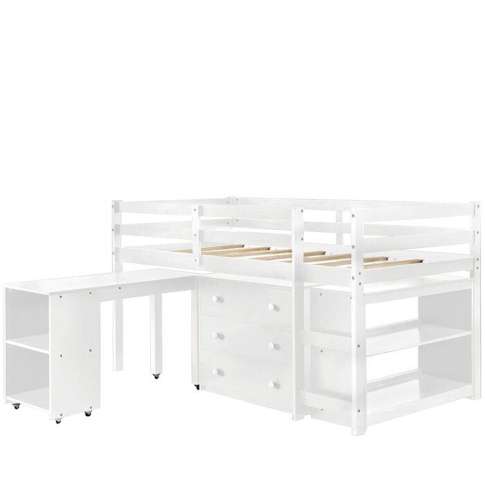 Tempat Tidur Tingkat Beckville dengan Meja